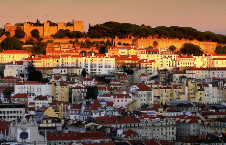 Hilly Run in Lisbon, Portugal