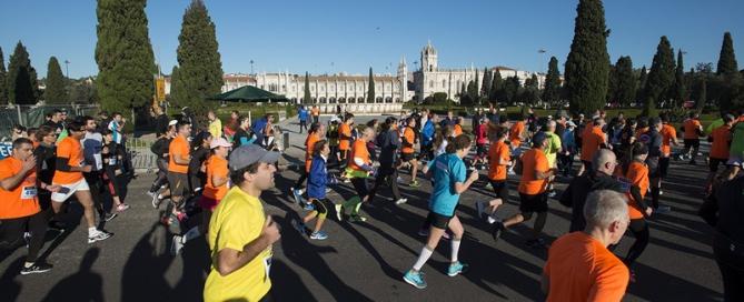Half Marathon in Lisbon