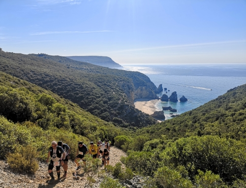 We beat the heat in Sesimbra Trail