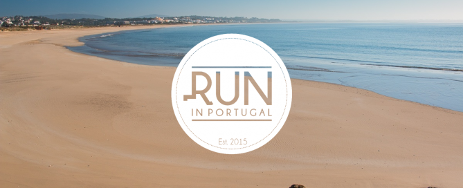 Run in Portugal Running on Meia Praia